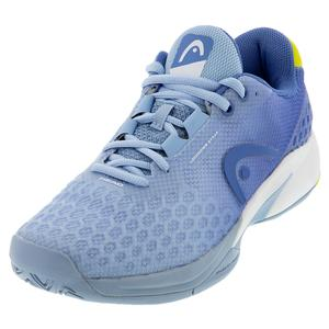 Women`s Revolt Pro 3.0 Tennis Shoes Light Blue and Yellow