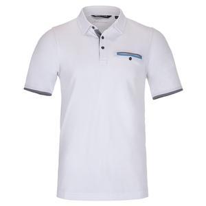 Men`s Found It Tennis Polo White