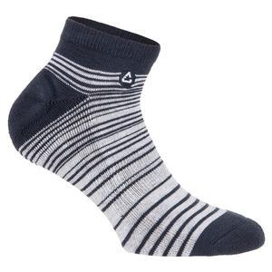 Men`s Venom Tennis Socks Heather Grey Pinstripe