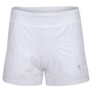 Women`s Formal Tennis Short White