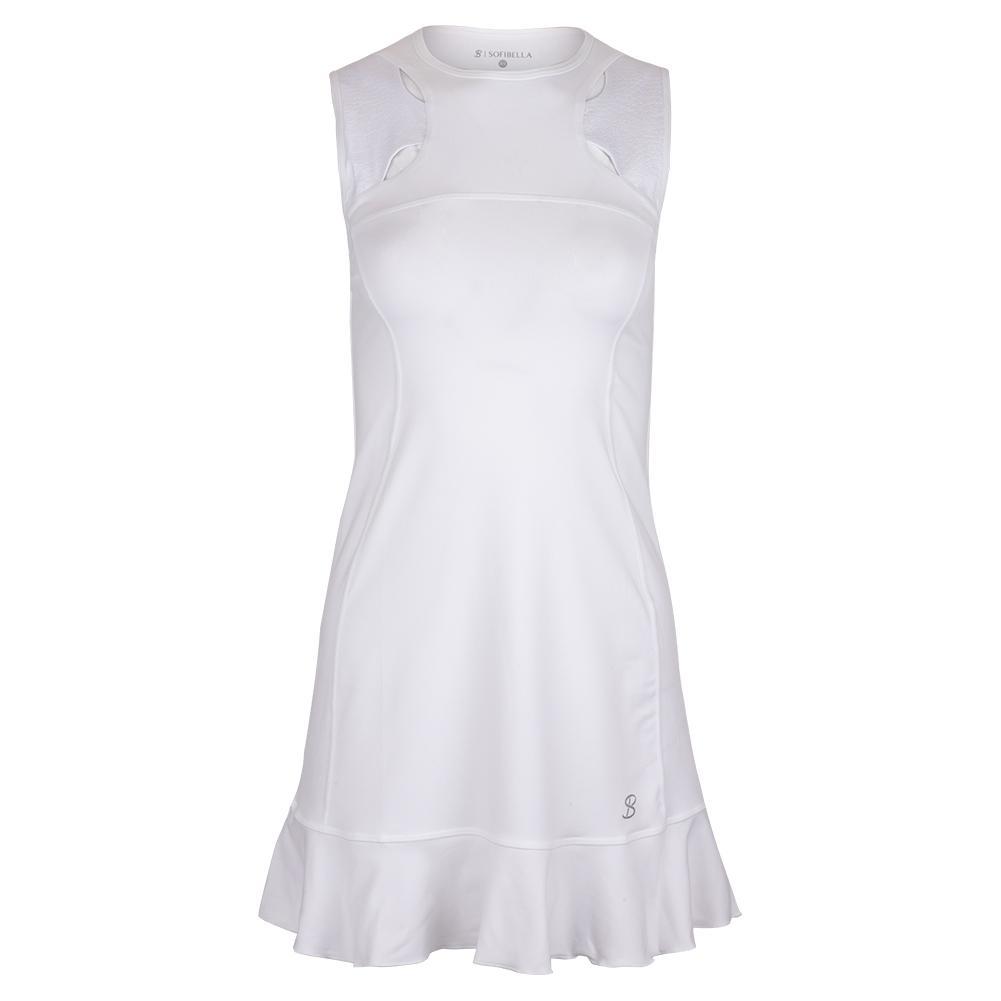 Women's Drive Tennis Dress White