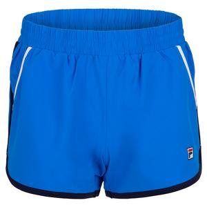 Women`s Tennis Short Electric Blue