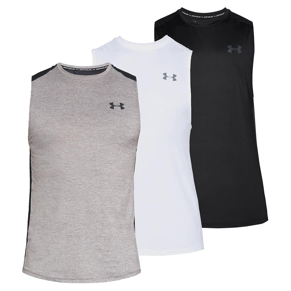 6a264c2b8f Under Armour Men`s MK-1 Sleeveless Top | Tennis Express