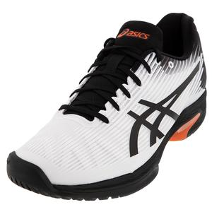 Men`s Solution Speed FF Tennis Shoes White and Black