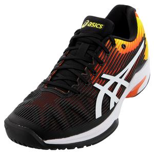Men`s Solution Speed FF Tennis Shoes Koi and White