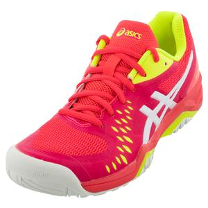 Women`s GEL-Challenger 12 Tennis Shoes Laser Pink and White