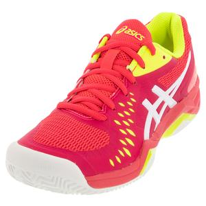 Women`s GEL-Challenger 12 Clay Tennis Shoes Laser Pink and White