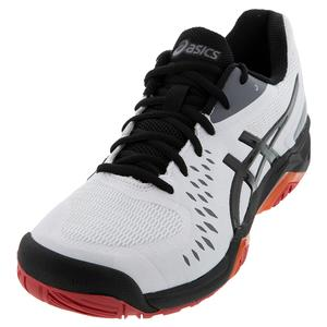 Men`s GEL-Challenger 12 Tennis Shoes White and Black
