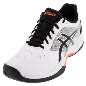 Men`s GEL-Game 7 Tennis Shoes White and Black