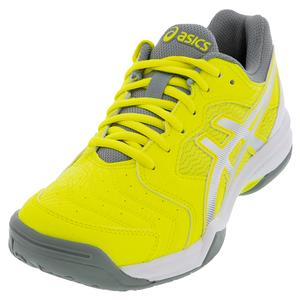 Women`s GEL-Dedicate 6 Tennis Shoes Sour Yuzu and White