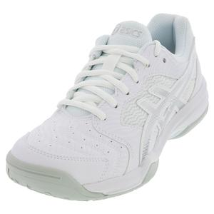 Women`s GEL-Dedicate 6 Tennis Shoes White and Silver