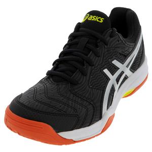 Men`s GEL-Dedicate 6 Tennis Shoes Black and Silver