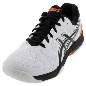 Men`s GEL-Dedicate 6 Tennis Shoes White and Black