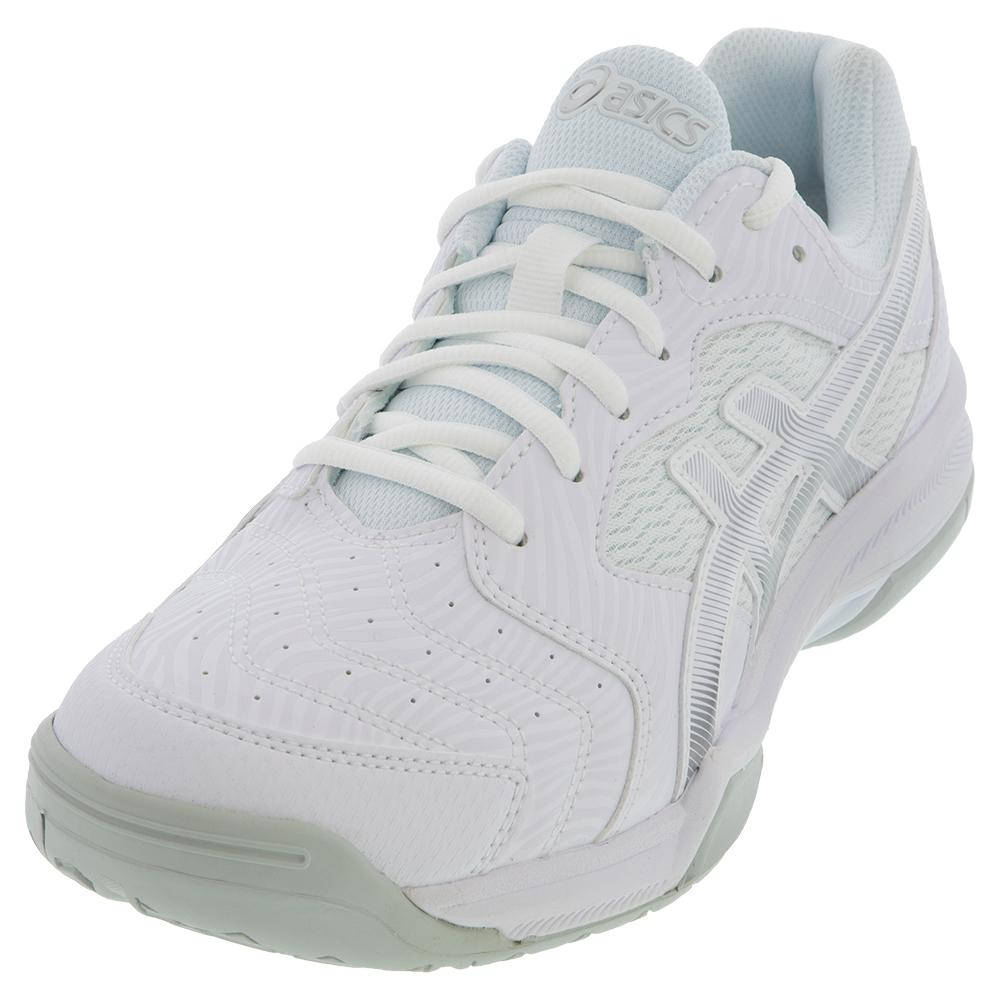 Men's Gel- Dedicate 6 Tennis Shoes White And Silver