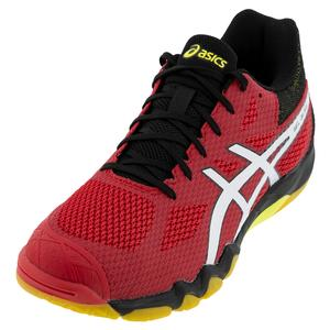 Men`s GEL-Blade 7 Squash Shoes Speed Red and White