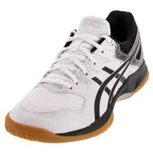 Women`s GEL-Rocket 9 Squash Shoes White and Black