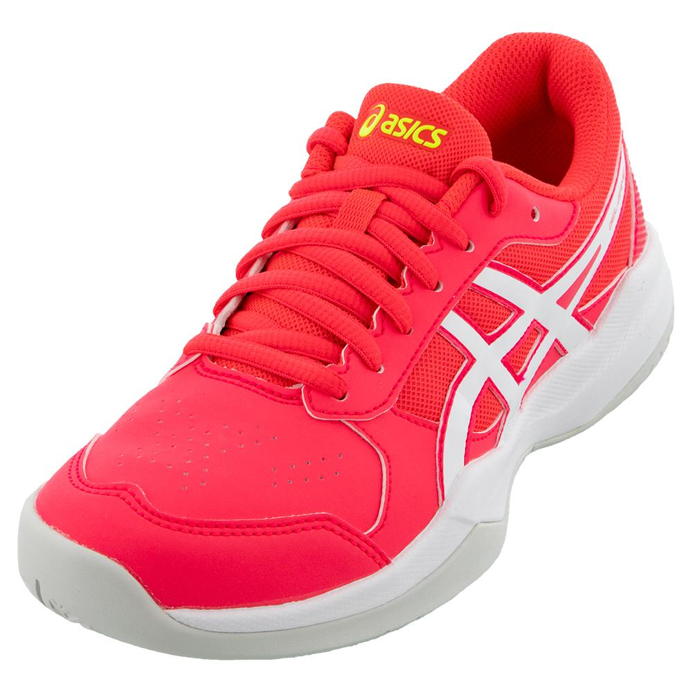 Juniors ` Gel- Game 7 Gs Tennis Shoes Laser Pink And White