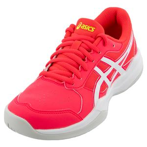 Juniors` GEL-Game 7 GS Tennis Shoes Laser Pink and White