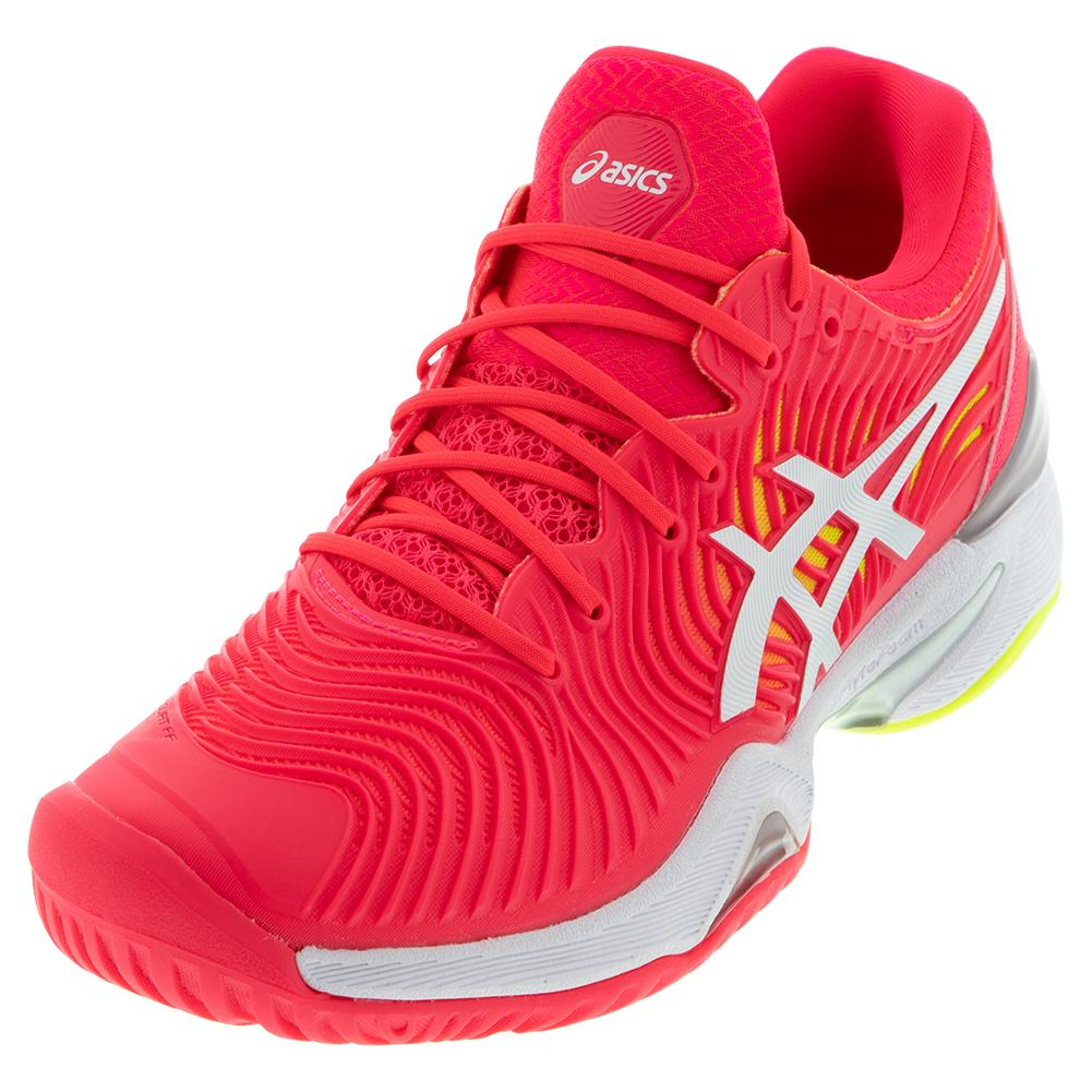 Women's Court Ff 2 Tennis Shoes Laser Pink And White