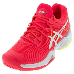 Women`s Court FF 2 Tennis Shoes Laser Pink and White