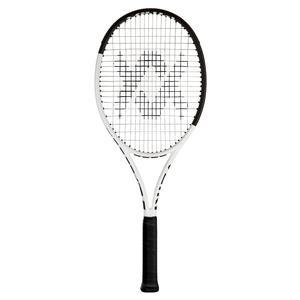 Team Speed White and Black Tennis Racquet