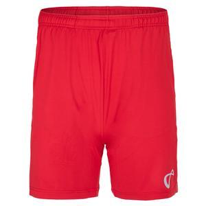 Men`s Legacy Knit Tennis Short Red