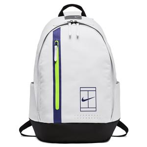 Court Advantage Tennis Backpack White and Black