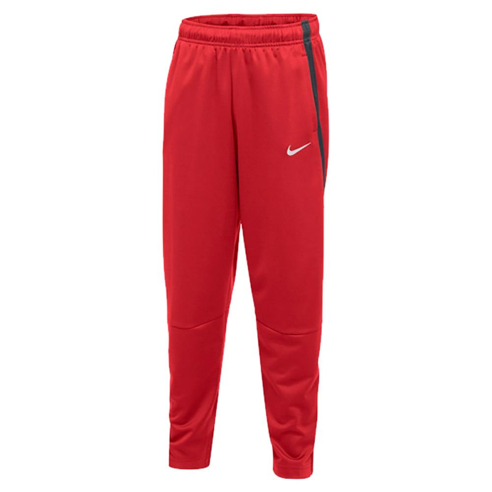 599d689536bee6 Nike Boys` Training Pant Scarlet and Anthracite | Tennis Express