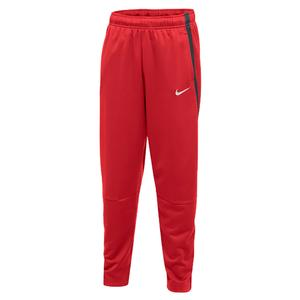 Boys` Training Pant Scarlet and Anthracite