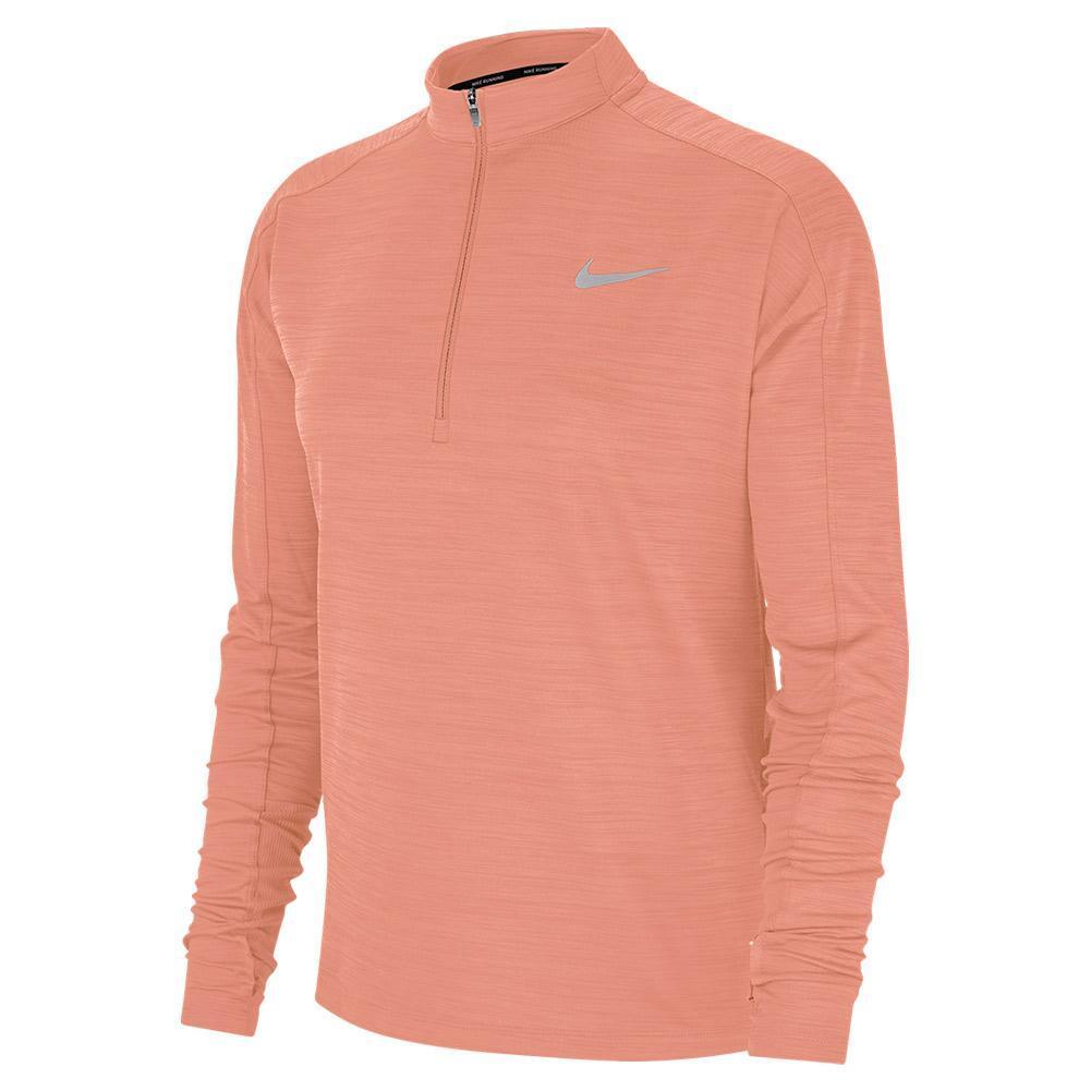c57023ad Nike Women's Pacer Long Sleeve Half Zip Running Top