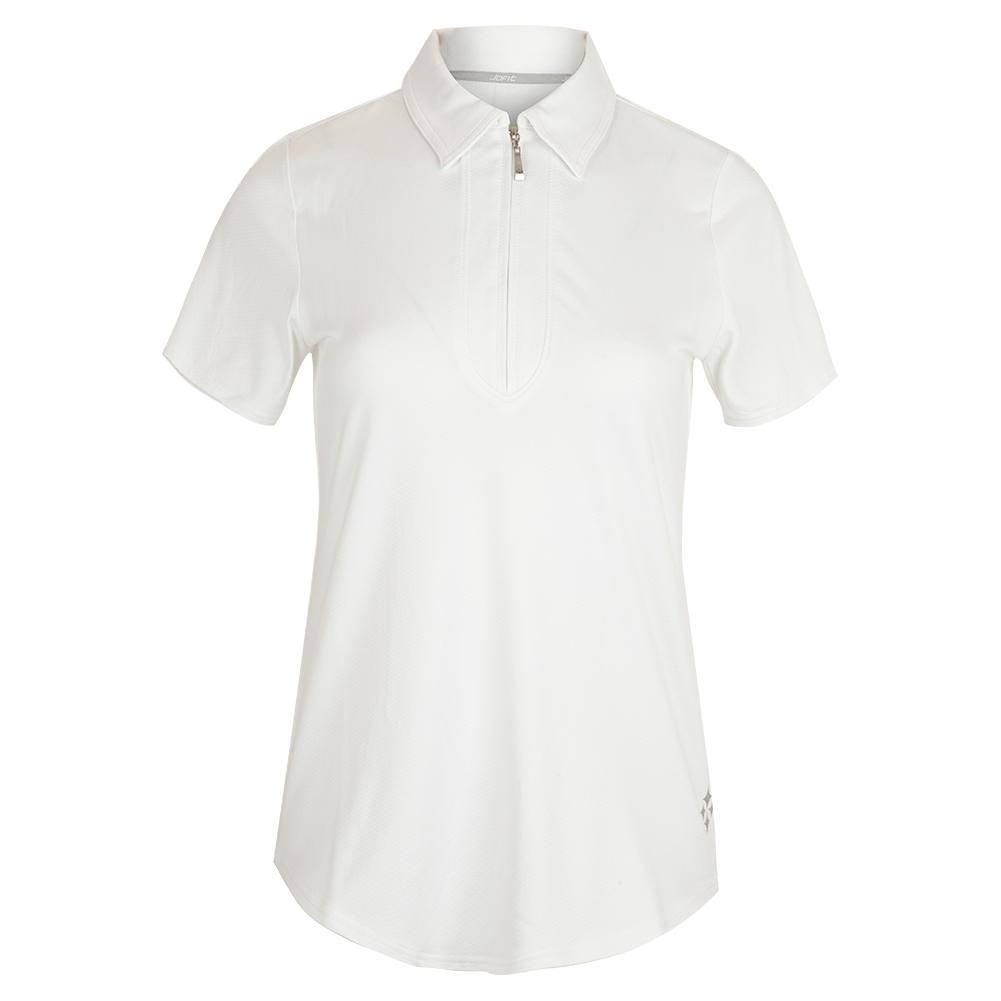 Women's Performance Tennis Polo White