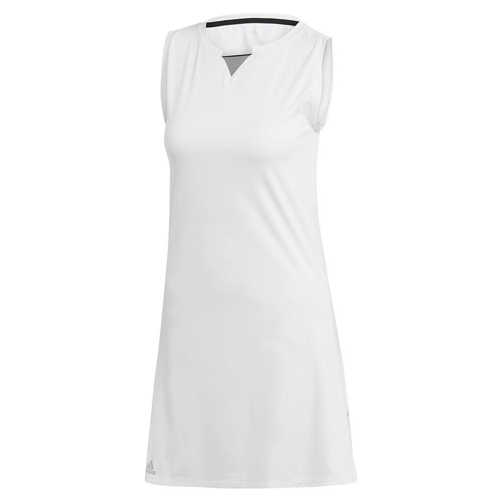 9d10eeccb2fa Adidas Women's Club Tennis Dress in White