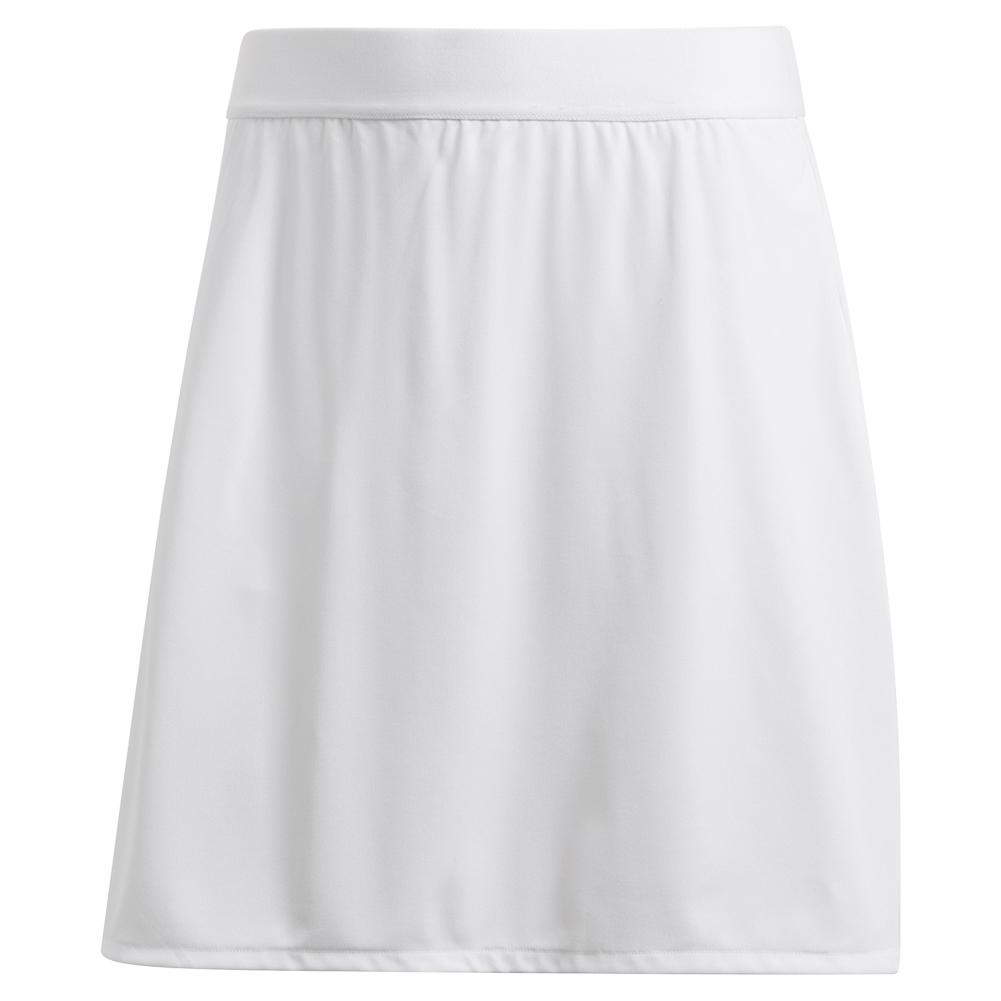 Women's Club 15 Inch Tennis Skort White