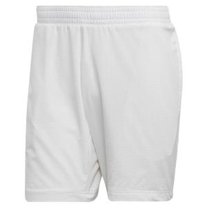 Men`s MatchCode Ergonomic 7 Inch Tennis Short White