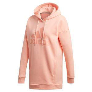 Women`s Must Haves Badge of Sport Hoodie Glow Pink