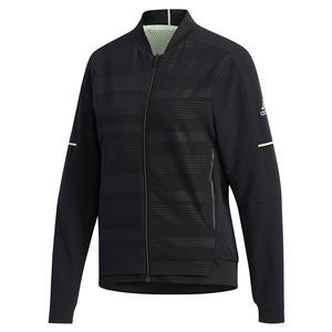 Women`s MatchCode Tennis Warm Up Jacket Black