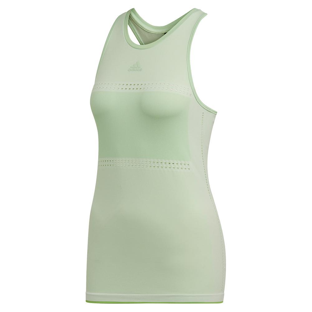 Women's Matchcode Tennis Tank Glow Green