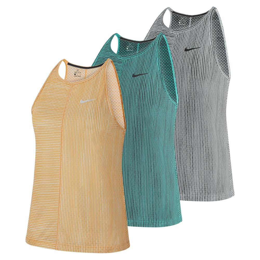 Women's Court Print Tennis Tank