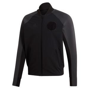 Men`s NY Varsity Tennis Jacket Black