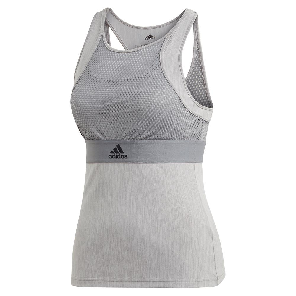Women's Ny Tennis Tank Grey Three