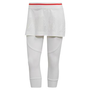 Women`s Stella McCartney Tennis Skirt Legging White