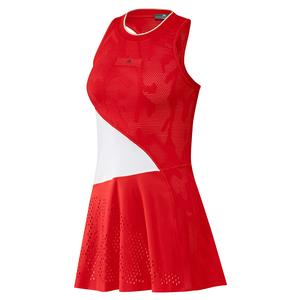 Women`s Stella McCartney Tennis Dress Active Red