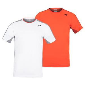 Men`s Paris Crew Neck Tennis Shirt