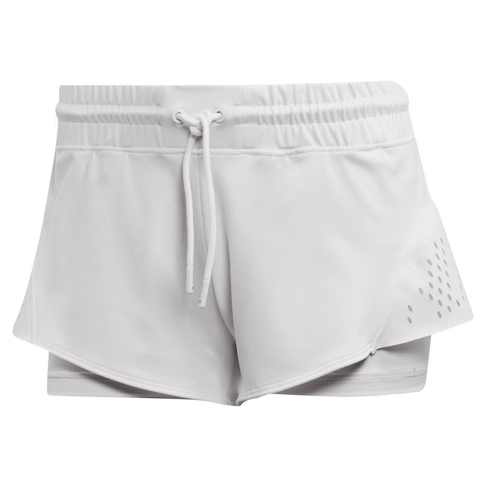 Women's Stella Mccartney 4 Inch Tennis Short White