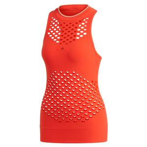 Women`s Stella McCartney Seamless Knit Tennis Tank Active Red
