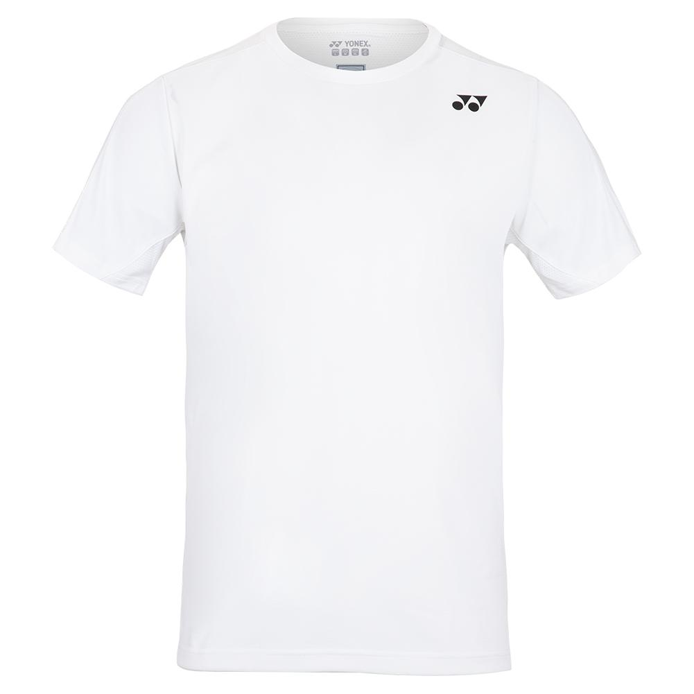Men's London Crew Neck Tennis Shirt White