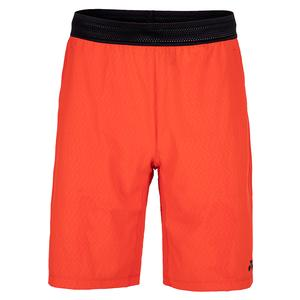 Men`s Paris Tennis Short Fire Red