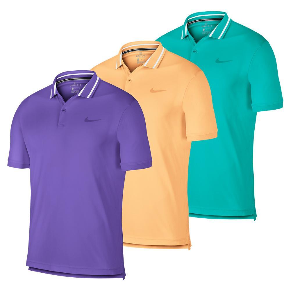 ce764dee Nike Men`s Court Dry Pique Tennis Polo | Tennis Express