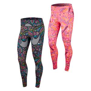 Women`s Fast Printed Running Tights