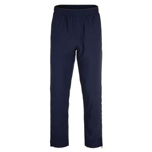 Men`s Heritage Tennis Pant Navy and Chinese Red